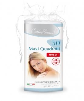 MAXI QUADROTTI MAKE-UP 50PZ – CARTONE DA 12 CONFEZIONI